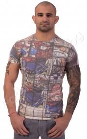 """Мъжка тениска """"СРЕДНОВЕКОВНИ МОТИВИ"""""""
