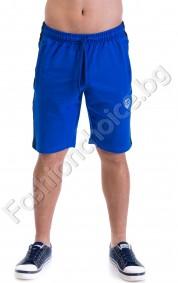 Къси панталони от трико с кант отстрани в четири цвята
