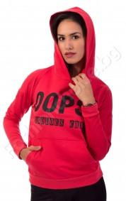 Дамски суичър с качулка и джобове OOPS! Fabolous chick