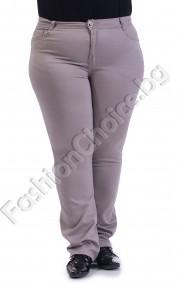 Класически прав макси панталон в черно, сиво или синьо