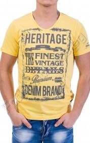 Мъжка тениска в осем контрастни цвята HERITAGE