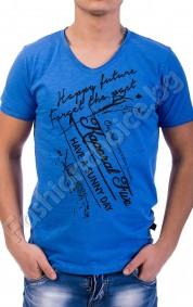 Мъжка тениска с къс ръкав в 6 цвята
