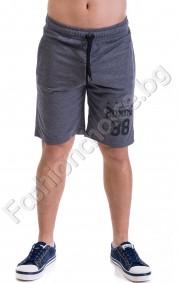Мъжки къси панталонки от трико в три цвята BOXING 88