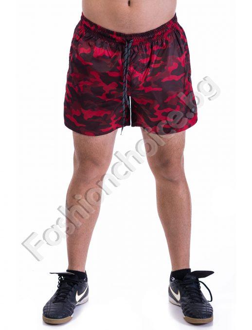 Летни къси панталонки за мъже в два свежи десена