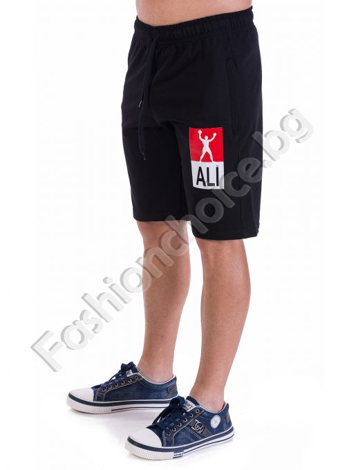 Мъжки 3/4 панталонки ALI в два цвята със скрит цип