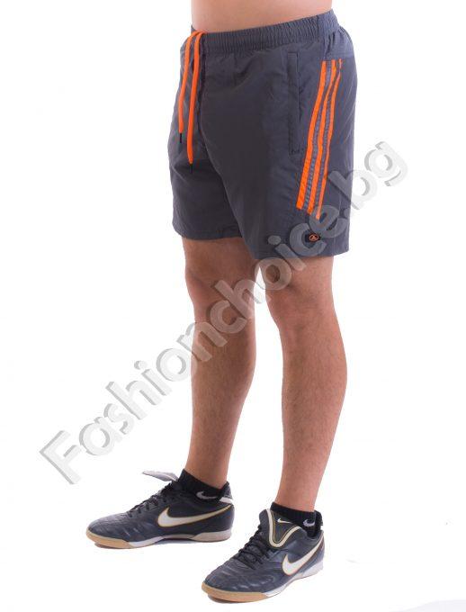 Мъжки къси панталонки с бандаж и цветни ленти /M до 3XL/