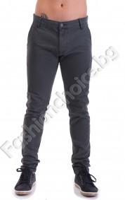 Модерен и удобен мъжки панталон слим в четири цвята