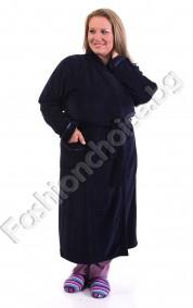Удобен и нежно мек халат от плюш в три цвята
