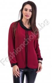 Нежна и ефирна дамска риза в три цвята