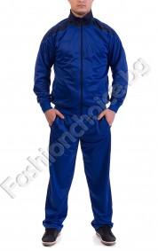 Мъжки спортен екип с джобчета от две части в три цвята