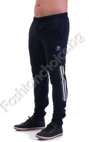 Спортно мъжко долнище в три цвята с джобчета