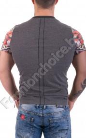 Мъжка тениска в актуален и модерен пролетен десен