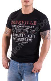 Мъжка тениска с къс ръкав NASHVILLE в сиво или черно