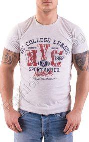 Mъжка тениска с обла яка NYC 1968 в три цвята