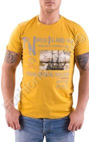Памучна мъжка тениска The North Island в три цвята