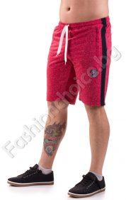 Мъжки къси панталони от трико в шест цвята с кант отстрани