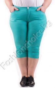 Удобен и комфортен 3/4 дамски панталон в четири свежи цвята /макси/