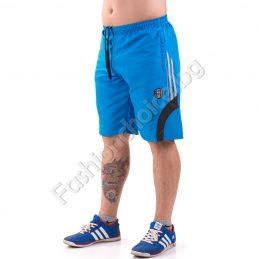 Удобни мъжки къси панталонки с кантове и джобове