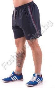 Мъжки спортни панталони със странични джобове с ципове