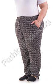 Удобен макси панталон за лятото от лека материя в два цвята