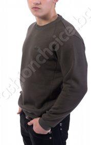 Ватирана мъжка блуза с щампа Joe Delucci's в шест цвята