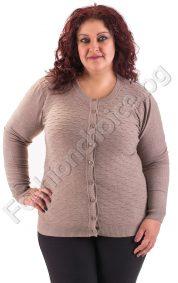 Комфортна и удобна макси жилетка на нежни вълнички в девет цвята