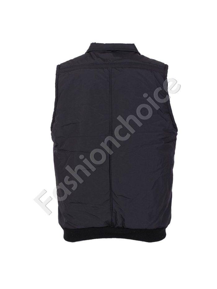 Топла макси мъжка грейка с якичка и джобчета код 005