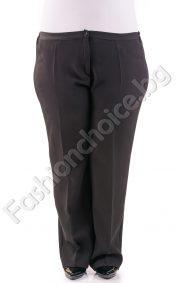 Стилен дамски панталон в два цвята за макси дами