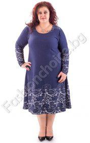 Прелестна дълга макси рокля в три актуални десена
