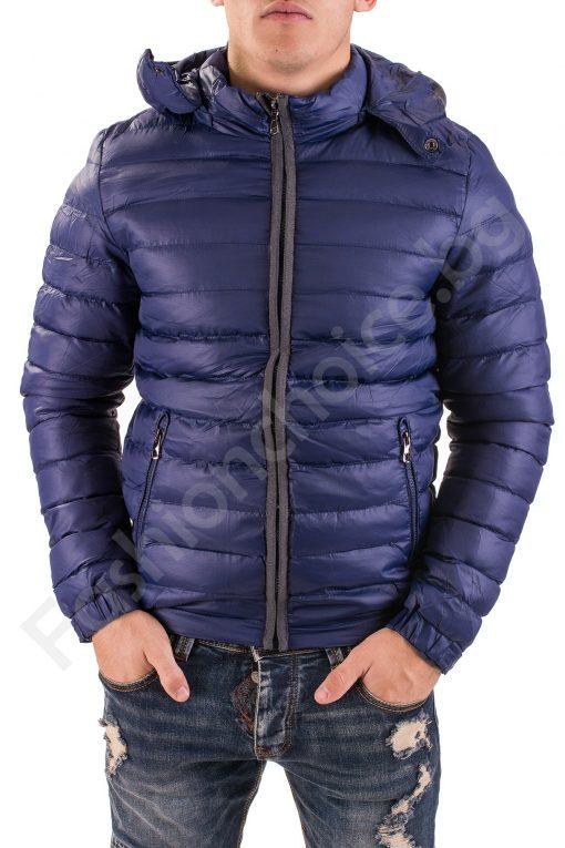 Зимно мъжко яке с подплата от еко косъм в три цвята