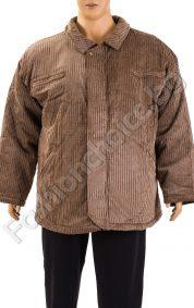 Плътна зимна мъжка шуба в три цвята /макси размер/