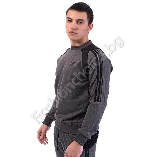 Модерен мъжка блуза, българско производство в три цвятаМодерен мъжка блуза, българско производство в три цвята