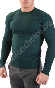 Изчистен мъжки пуловер от фино плИзчистен мъжки пуловер от фино плетиво в три цвятаетиво в три цвята