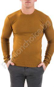 Изчистен мъжки пуловер от фино плетиво в три цвята