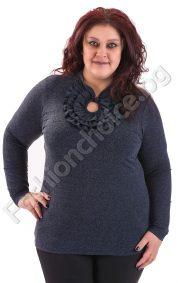 Прекрасна топла блуза в два цвята/макси размери/