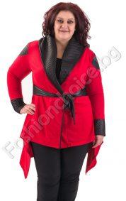Нестандартна връхна дреха, макси размери