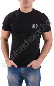 Мъжка тениска с величествен орел в задната част