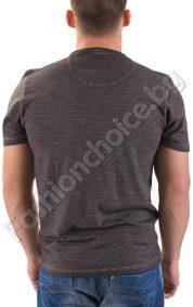 Мъжка тениска от памук с надпис NEW YORK