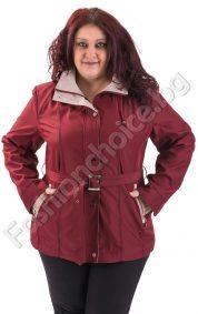 Комфортен и практичен макси шлифер с коланче в 5 цвята