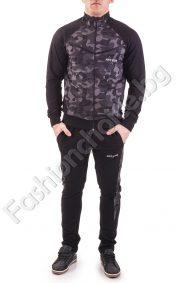 Ефектен мъжки спортен комплект в два камуфлажни десена
