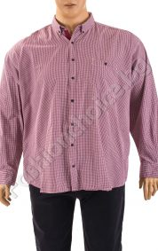Пролетна мъжка макси риза в три карирани десена