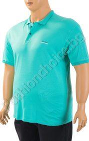 Комфортна мъжка тениска с копченца /макси размер/