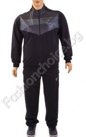 Български мъжки спортен комплект в два цвята /макси размер/