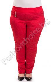 Кокетен макси панталон-тип клин в два свежи летни цвята