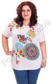 Прелестна макси блуза за пролетта в шест свежи цвята