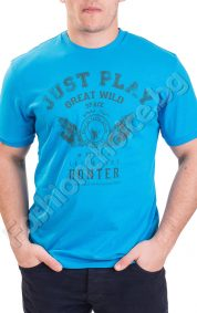 Мъжка тениска с къс ръкав JUST PLAY в шест цвята