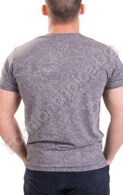 Памучна мъжка тениска с къс ръкав в три цвята
