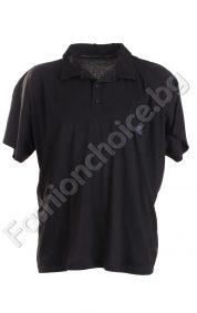 Лятна мъжка макси тениска с якичка в три цвята