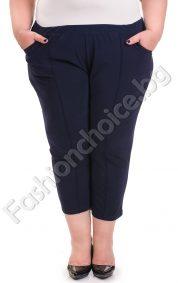 Летен 7/8 панталон с джобчета и нова разкошна материя