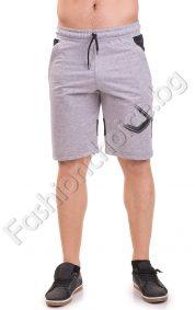 Летни 3/4 мъжки панталони от трико в два актуални десена